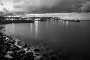 St Ives Black and white by KBrimson Photography